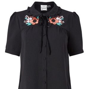 JOANIE GIRL June Embroidered Blouse